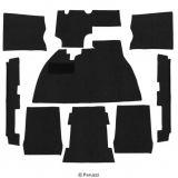 Teppich Set (9teilig)Schwarz
