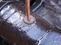 Benzinleitungdurchführungsgummi (Paar)