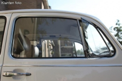 Fensterdichtungen Aluminiumprofil außen rechts