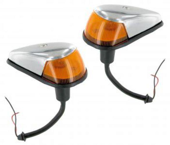 Blinkereinheit oranges Glas B-Qualität (Paar)