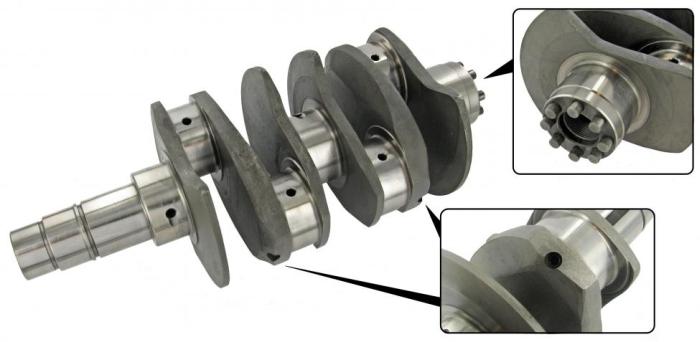 Kurbelwelle (4340 Chrom/Molybdän) 82 mm Hub