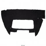 Kofferraumteppich schwarz