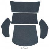 Teppich Set (Einbau hinter Rücksitz) Grau