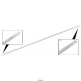 Trittbrett ZierleistenAluminium  (Paar)