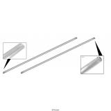Trittbrett Zierleiste Aluminium ( Paar)