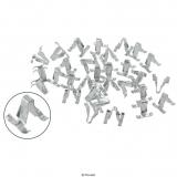 Clips für Zierleisten (34 Stück)