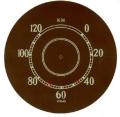 Tachometerscheibe (Aufkleber)
