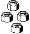 Spurstangengelenkmuttern M10 x 1.0(4Stück)(selbstsichernd)