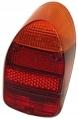 Europäisches Rücklichtglas A-Qualität Orange/Rot (Stück)
