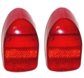 USA Rücklichtgläser rot B-Qualität (Paar)