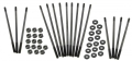 Zylinderstehbolzenset extra lang (+13mm) M10