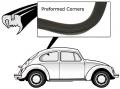 Vorgeformte Dichtungen Seitenfenster Links ohne Profil