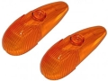 Blinkerglas orange (Paar)