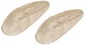 Blinkerglas weiß (Paar)